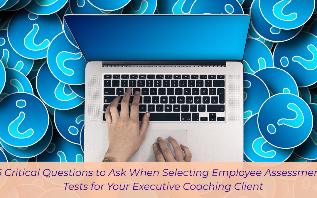 15 Critical Questions to Ask When Selecting Employee Assessment Tests for Your Executive Coaching Client
